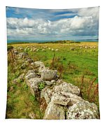 Sunny Meadow Sheep Tapestry