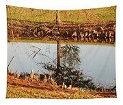 Sunny Pond Tapestry