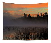 Sunrise At Connery Pond 1 Tapestry