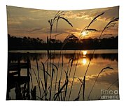 Sunrise At Grayton Beach Tapestry