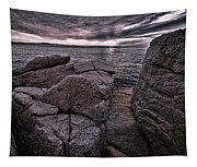 Sunrise At Otter Cliffs #5 Tapestry