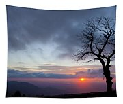 Sunrise At Saddle Overlook Tapestry