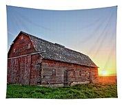 Sunrise Barn Tapestry