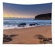 Sunrise By The Seaside Tapestry