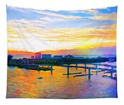 Sunrise Colors Over The Halifax Tapestry