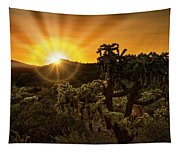 Sunrise Done With An Arizona Flare Tapestry