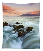 Sunrise Drain Tapestry