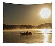 Sunrise Fishing Tapestry