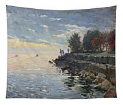 Sunrise Fishing Tapestry