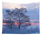 Sunrise Fog Tapestry