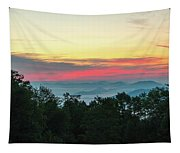 Sunrise From Maggie Valley August 16 2015 Tapestry
