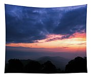 Sunrise From Tiger Hill In Darjeeling Tapestry