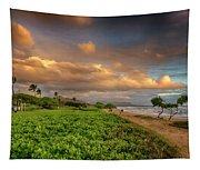 Sunrise Nukolii Beach Kauai Hawaii 7r2_dsc4068_01082018 Tapestry