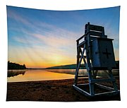 Sunrise On Eighth Lake 1 Tapestry