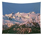 1m4120-sunrise On Mt. Olympus  Tapestry