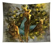 Sunrise On The Tree Pixies Tapestry