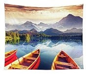 Sunrise Over Australian Lake Tapestry