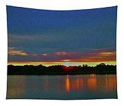 Sunrise Over Ile-bizard - Quebec Tapestry