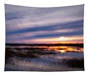 Sunrise Over The Salt Marsh Tapestry