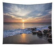 Sunrise Surf Tapestry