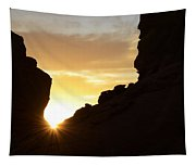 Sunrise Valley Of Fire Tapestry