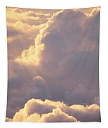 Sunrise With Shadows Tapestry