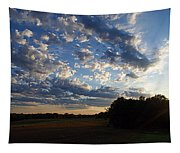 Sunset After The Storm Tapestry