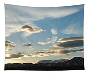 Sunset And Iridescent Cloud Tapestry