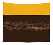 Sunset And Lake Michigan Tapestry
