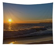 Sunset And The Sea - Cape May New Jersey Tapestry