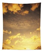 Sunset At Chinamans Hat Tapestry