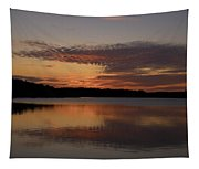 Sunset At The Gulf Of Bothnia 4 Tapestry