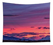 Sunset At The Ranch #2 - Patagonia Tapestry