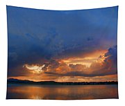 Sunset Blues Tapestry