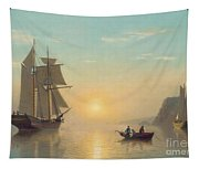 Sunset Calm In The Bay Of Fundy Tapestry