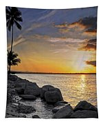 Sunset Caribe Tapestry