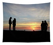 Sunset Couples Tapestry