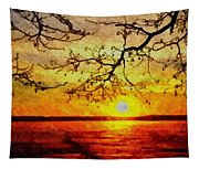 Sunset For Abigail Browne H B Tapestry