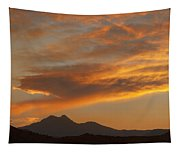 Sunset Glow Over The Twin Peaks Tapestry