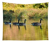 Sunset Goose Tapestry