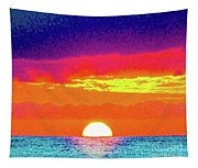 Sunset In Abstract 500 Tapestry