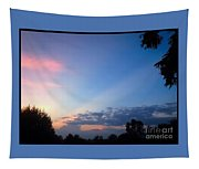 Sunset In Early Evening Tapestry