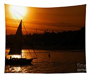 Sunset In Southern California Tapestry