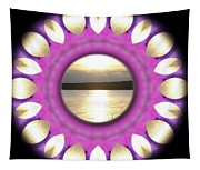 Sunset In Summertime Tapestry