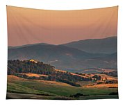 Sunset In The Countryside Tapestry