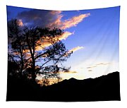 Sunset In The Highlands Tapestry