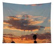 Sunset Moreno Valley Ca Tapestry