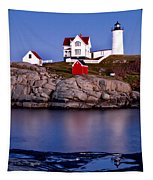 Sunset Nubble Tapestry
