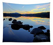 Sunset On Lake Harris 2 Tapestry