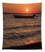 Sunset On The Bay Lavallette New Jersey  Tapestry